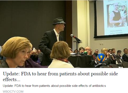 Michael Kaferly testifies before the FDA